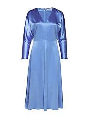 Bacopa long dress 9697 - BLUE BONNET