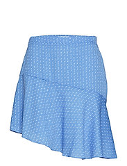 Lantana short skirt aop 6891 - BLUE STARRY
