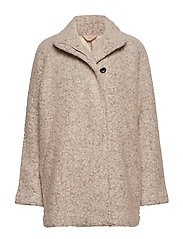 Helle jacket 6182 - SAND GREY MEL.