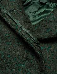 Samsøe Samsøe - Helle jacket 6182 - wełniane kurtki - shady glade mel. - 3