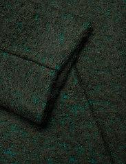 Samsøe Samsøe - Helle jacket 6182 - wełniane kurtki - shady glade mel. - 4