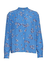 Elmy shirt aop 10864 - BLUE BREEZE
