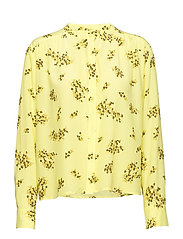 Elmy shirt aop 10864 - YELLOW BREEZE