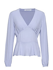 Cindy blouse 10056 - ZEN BLUE
