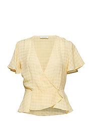 Sylvi blouse ss 10851 - APRICOT GELATO