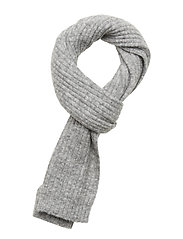 Nori scarf slim 7355 - GREY MEL.