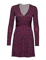 Elsi short dress aop 10908 - MOONLIGHT FLOWER