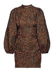 Harriet short dress 11334 - ARGAN OIL