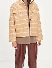 Samsøe Samsøe - Leonie jacket 11289 - wool jackets - fenugreek ch. - 0
