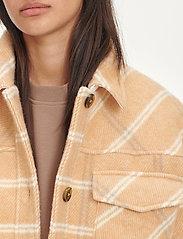 Samsøe Samsøe - Leonie jacket 11289 - wool jackets - fenugreek ch. - 5
