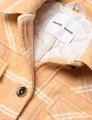 Samsøe Samsøe - Leonie jacket 11289 - wool jackets - fenugreek ch. - 3