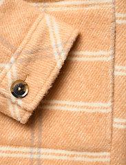 Samsøe Samsøe - Leonie jacket 11289 - wool jackets - fenugreek ch. - 4