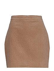 Cory short skirt 11305 - NOUGAT KHAKI