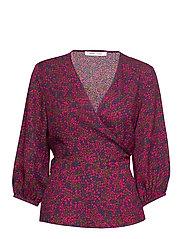 Veneta blouse aop 7947 - MOONLIGHT FLOWER