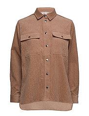Leonora shirt 11305 - NOUGAT KHAKI
