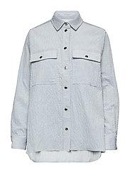 Leonora shirt 11305 - ZEN BLUE