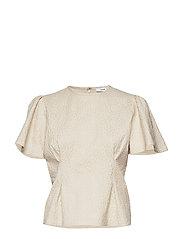 Jo ss blouse 11402 - WHITE FLOWER