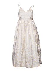 Grant dress 11457 - WARM WHITE
