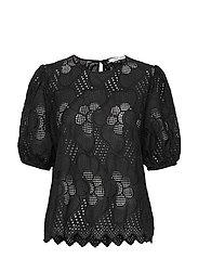 Juni ss blouse 11455 - BLACK
