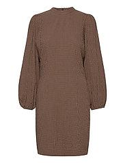 Harrietta short dress 11238 - ARGAN CHECK