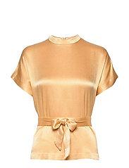 Kimberly blouse ss 10447 - NEW WHEAT