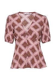 Petunia ss blouse aop 10056 - FOULARD