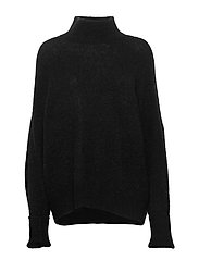 Jaci turtleneck 12757 - BLACK MEL.