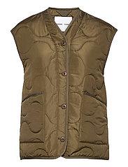 Amazon vest 12853 - DARK OLIVE
