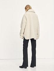 Samsøe Samsøe - Aylin jacket 12856 - wool jackets - whisper white - 3