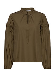 Maia shirt 11468 - DARK OLIVE