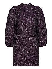 Harriet short dress 12905 - PURPLE JASPER