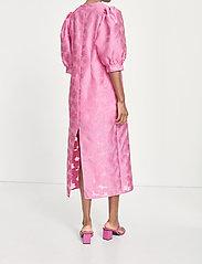 Samsøe Samsøe - Celestina long dress 12939 - kveldskjoler - bubble gum pink - 4