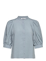 Mejse shirt 12771 - DUSTY BLUE