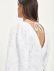 Samsøe Samsøe - Anai blouse 13089 - long sleeved blouses - bright white - 3