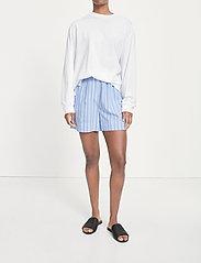 Samsøe Samsøe - Laury shorts 14014 - shorts casual - bold blue st. - 0