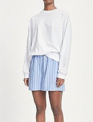 Samsøe Samsøe - Laury shorts 14014 - shorts casual - bold blue st. - 4