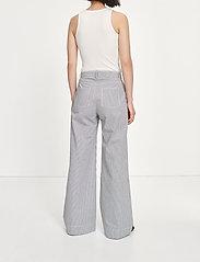 Samsøe Samsøe - Allie trousers 13158 - bukser med brede ben - milk boy st. - 3