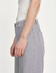 Samsøe Samsøe - Allie trousers 13158 - bukser med brede ben - milk boy st. - 5