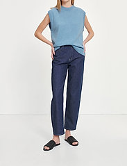 Samsøe Samsøe - Elly jeans 14031 - straight regular - blue rinse - 0