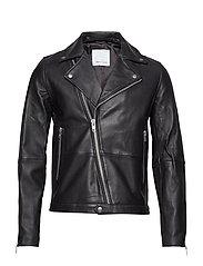 Spike jacket 7248 - BLACK