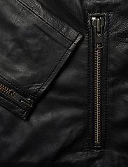 Samsøe Samsøe - Starship jacket 1440 - kurtki skórzane - black - 3