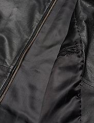 Samsøe Samsøe - Starship jacket 1440 - kurtki skórzane - black - 4