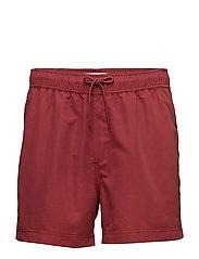 Mason swim shorts 6956 - BRICK RED