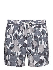 Mason swim shorts aop 6956 - BIG FLOWER