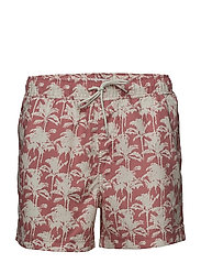 Mason swim shorts aop 6956 - ROSE PALMIER AOP