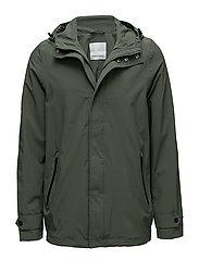 Sil hood jacket 7176 - THYME