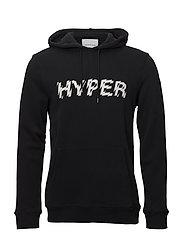 Hyper hoodie 9461 - BLACK