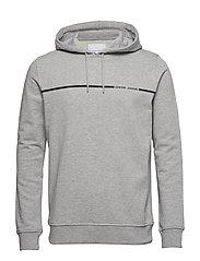 Bogense hoodie 10479 - GREY MEL.