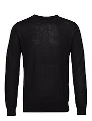 Flemming crew neck 3111 - BLACK