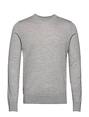 Flemming crew neck 3111 - GREY MEL.
